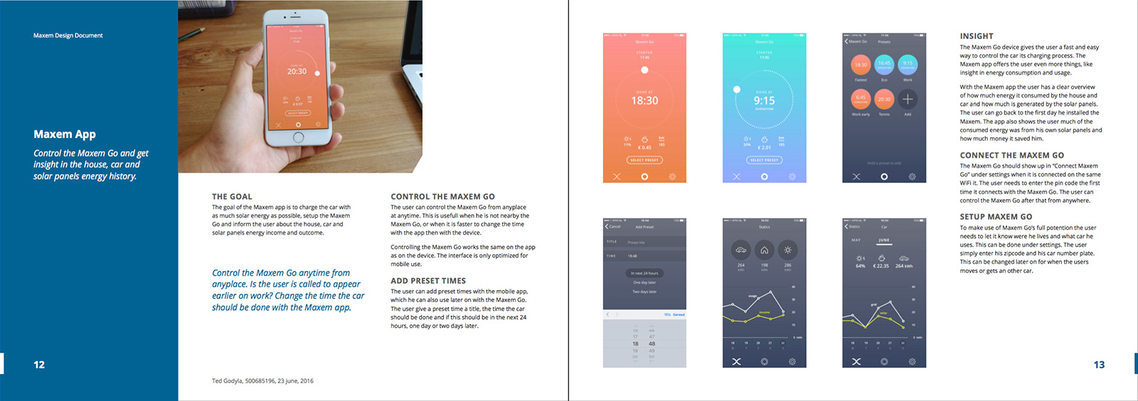 Maxem Go design document